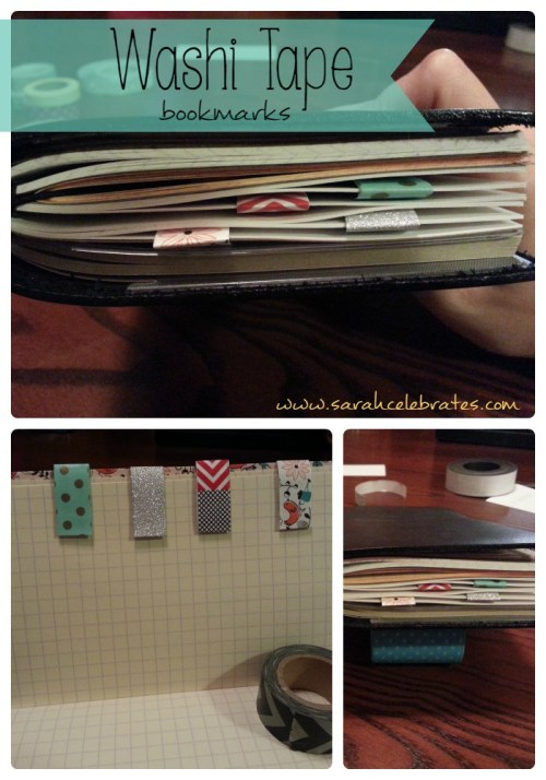 Washi Tape Bookmarks - Mark a Page and Enjoy