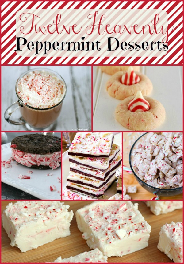 Heavenly Peppermint Desserts | Sarah Celebrates feature