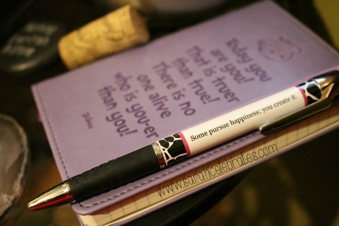 52 Lists 2015 - List 5 - Beside My Bed, Notebook and Pen | Sarah Celebrates
