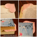 Felt Heart Bookmarks - Mark Your Page | Sarah Celebrates