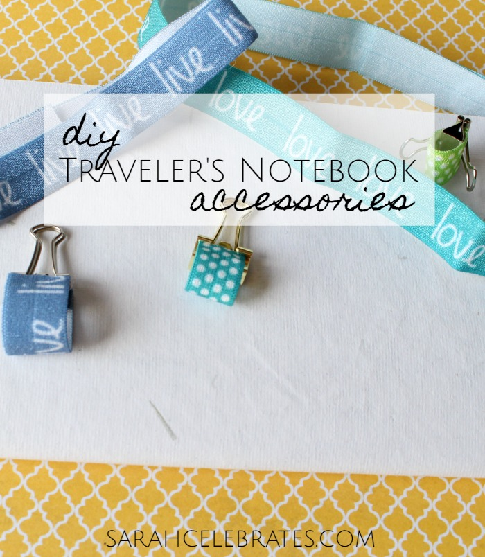 DIY Traveler's Notebook Accessories