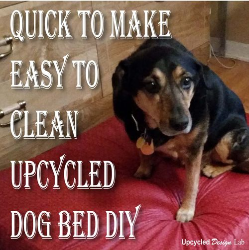 Upcycled Dog Bed, Upcycled Design Lab - A #2usestuesday Feature
