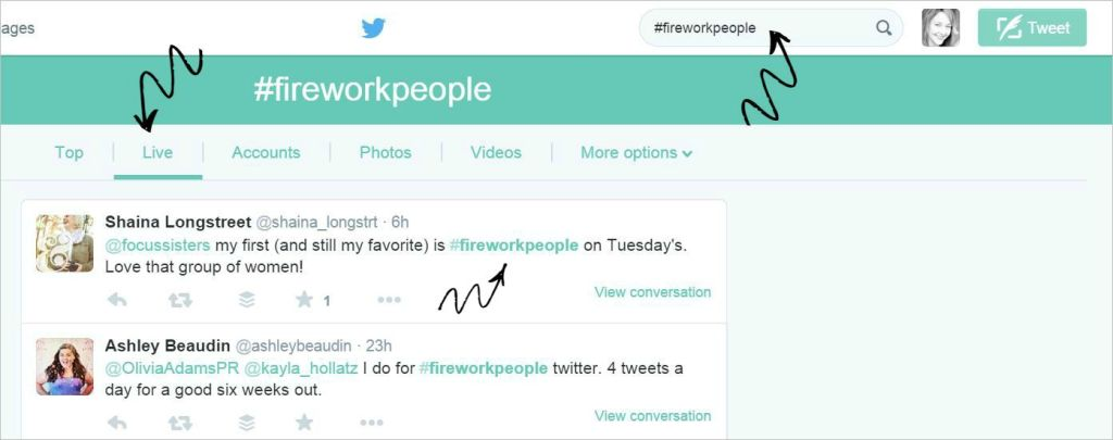 #FireWorkPeople Twitter Chats - get to the chat