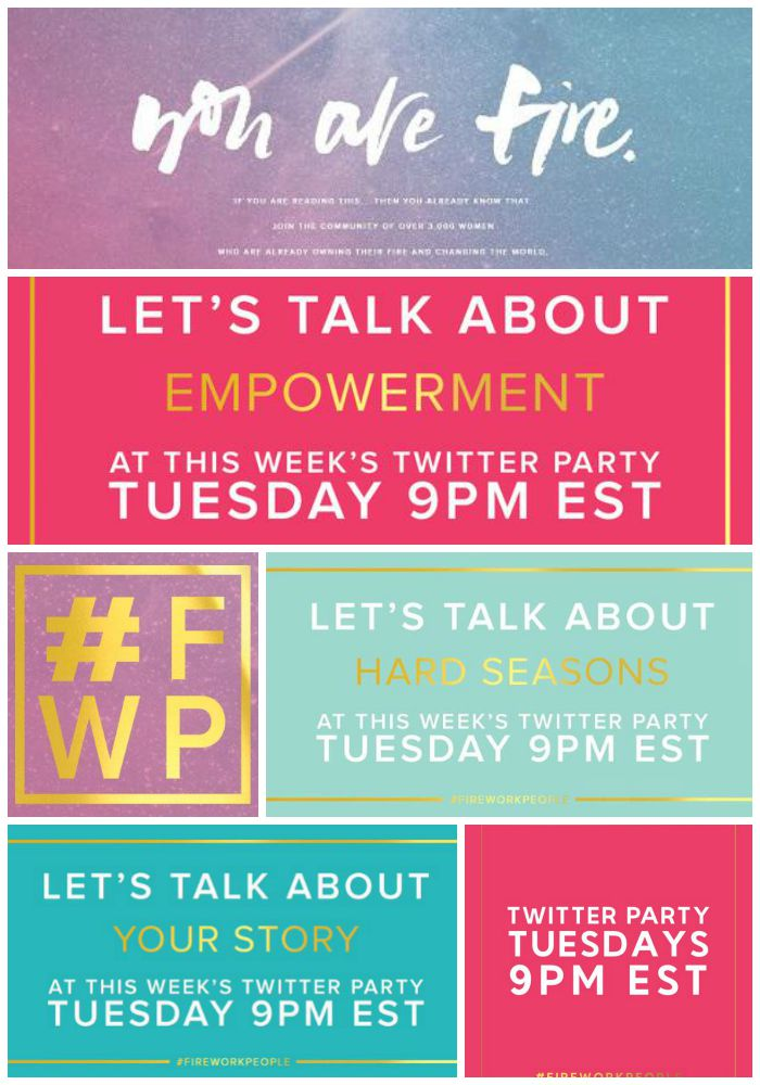 #FireWorkPeople Twitter Chats