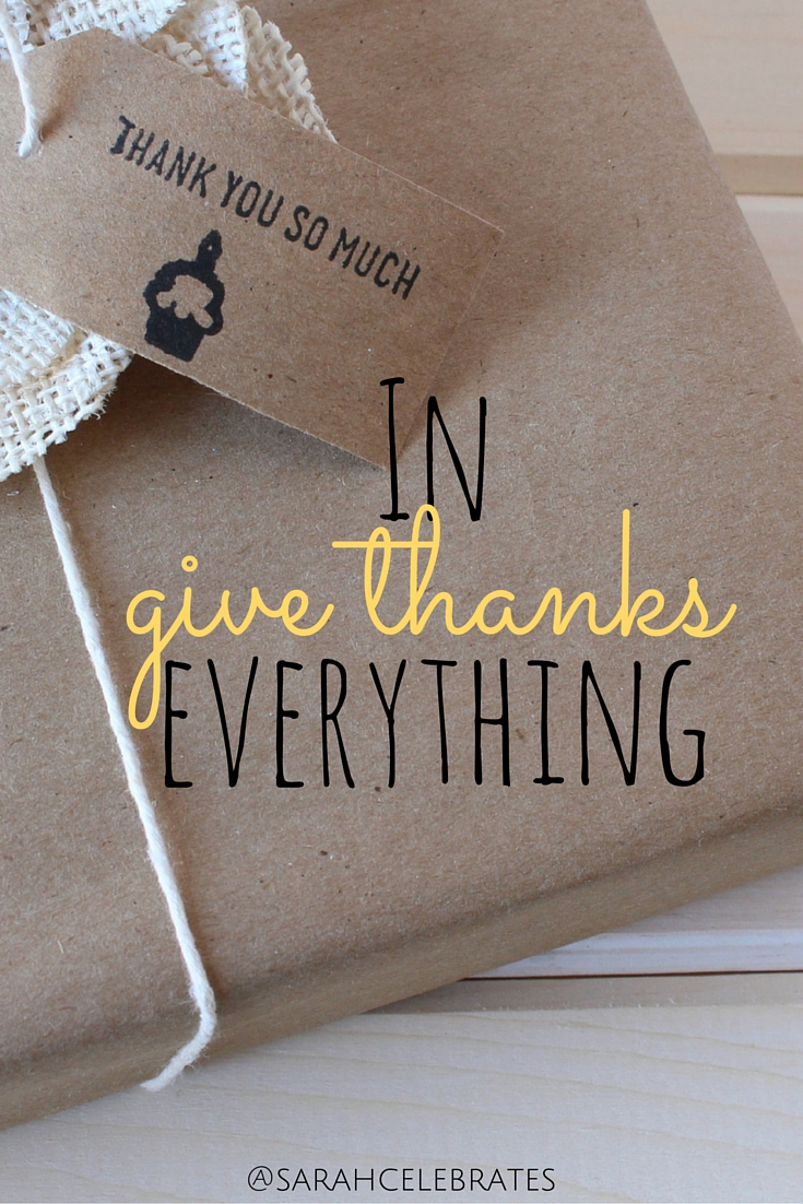 In everything, give thanks #MondayMotivation