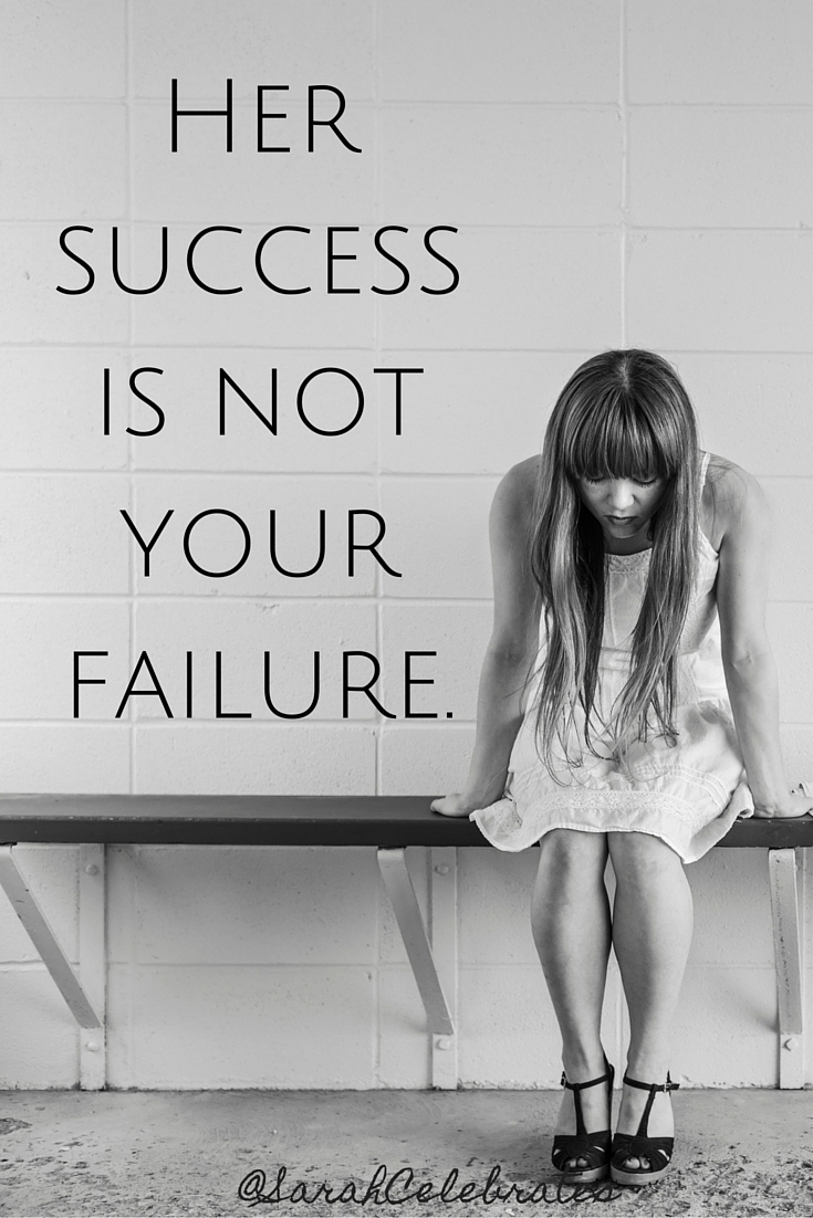 Her success is not your failure #MondayMotivation