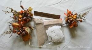 Simply Chic Fall Wreath - Supplies