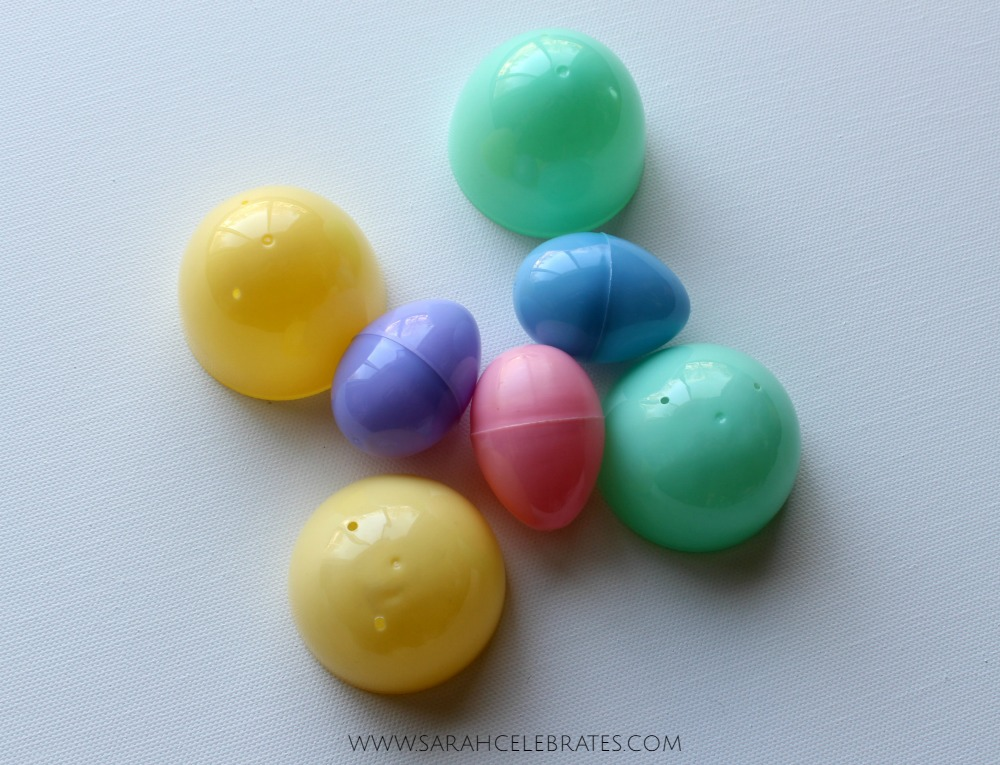 Childhood Easter Classic with Adult Style - plastic eggs are just a BIT too juvenile