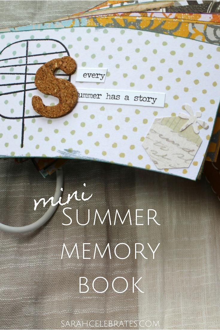 Mini Summer Book, coffee sleeve upcycle