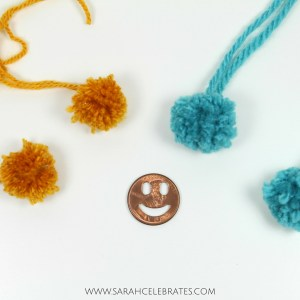 Paperclips Toppers - Pom Poms