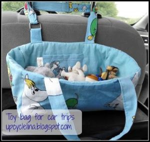 Toy bag for car trip | Faves so far at #Pinbellish 42