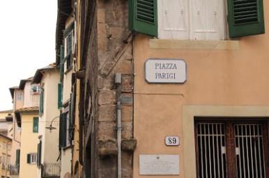 Via Parigi Lucca