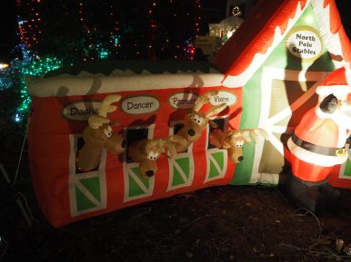 Santa et ses renes