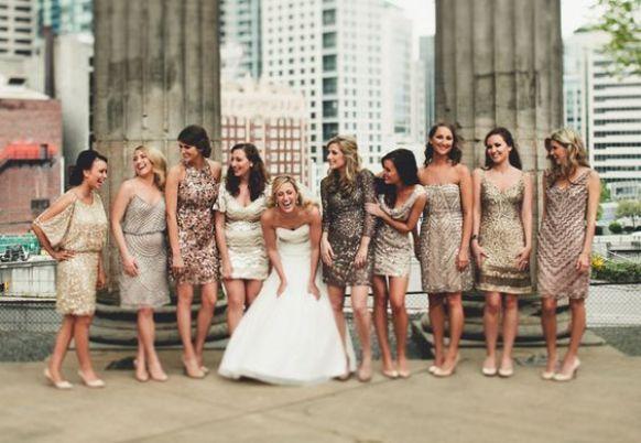 Bridesmaids church