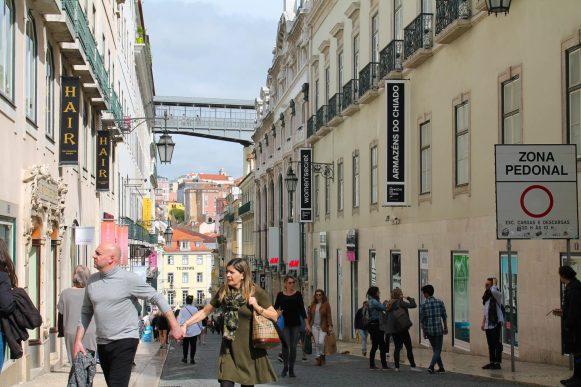 Lisbonne Chiado et Carmo