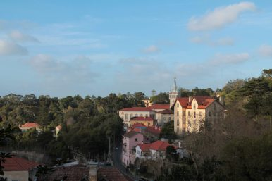 Centre ville Sintra Portugal