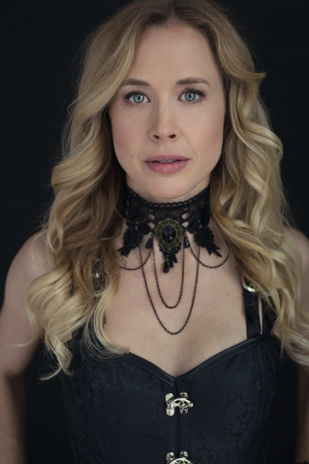 portrait of Leah steampunk