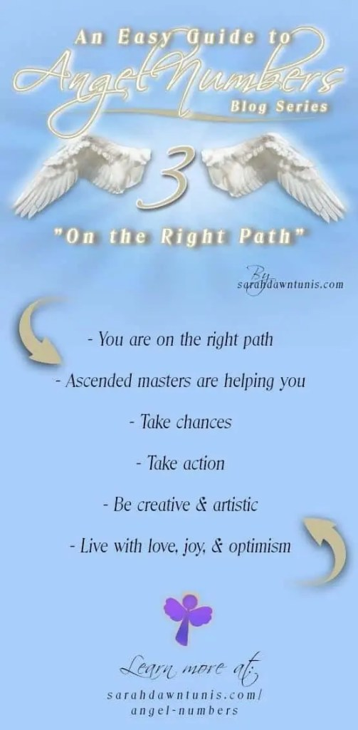 On The Right Path Angel Number 3 33 333 3333 Easy Guide To Angel