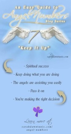 Keep It Up - ANGEL NUMBER 7, 77, 777, 7777 - Easy Guide to Angel Numbers