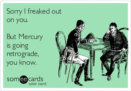 Best mercury retrograde memes