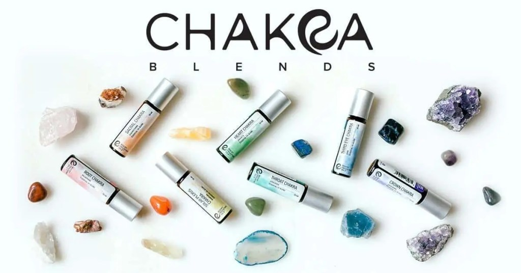 Chakra Blends Essential Oils from Rocky Mountain Oils