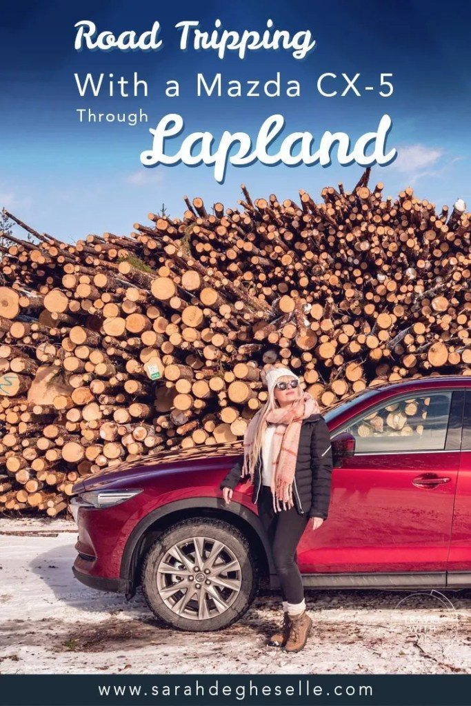 Road tripping through winter wonderland with a Mazda CX-5 | Lapland