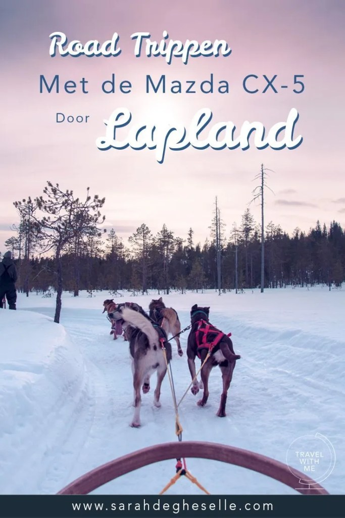 Roadtrippen door winter wonderland met een Mazda CX-5 | Lapland