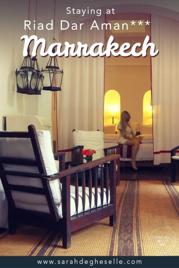 Staying at Riad Dar Aman*** | Marrakech | Morocco