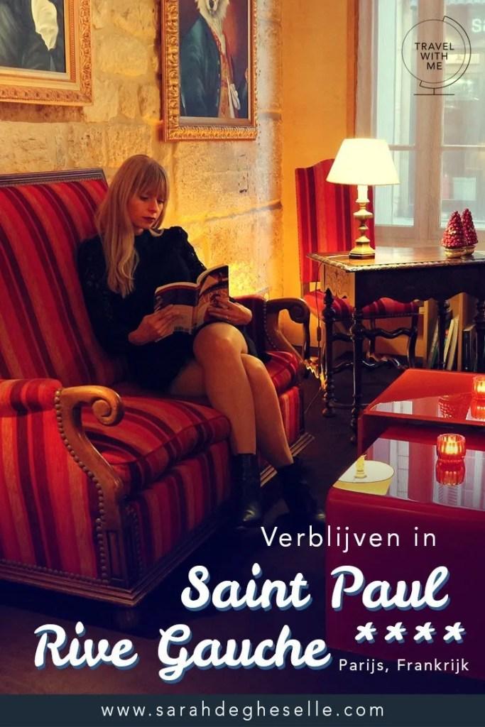 Verblijven in hotel Saint Paul Rive Gauche **** | Parijs | Frankrijk