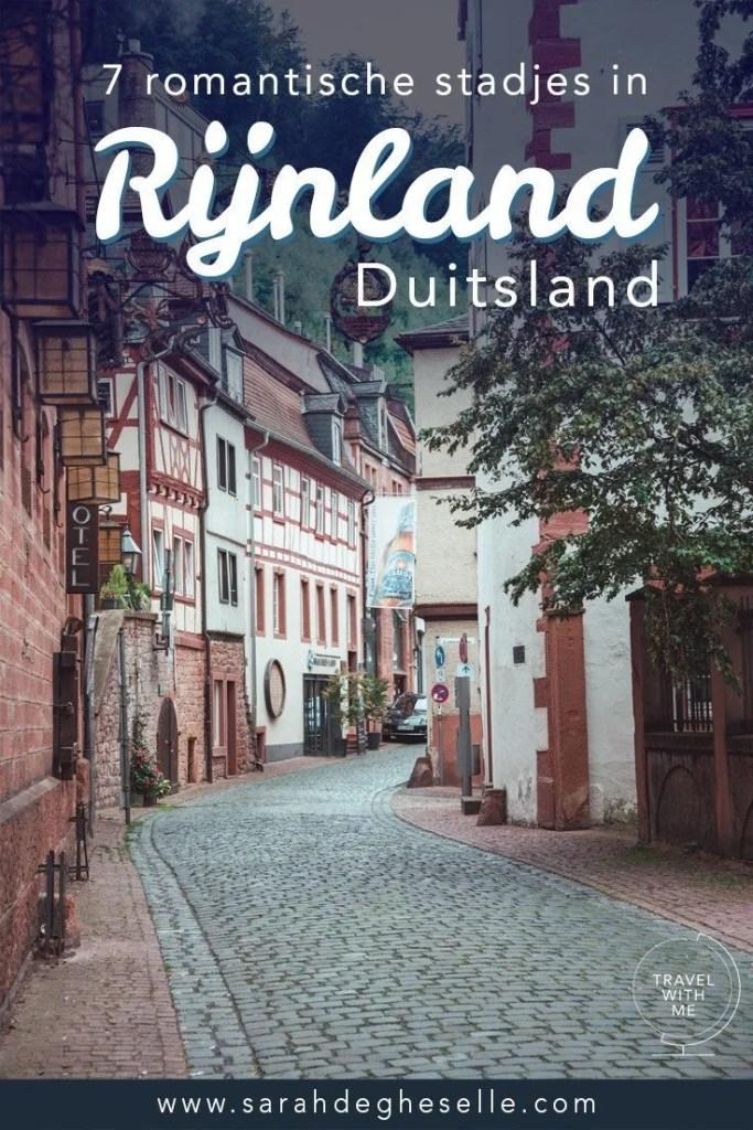 7 romantische stadjes in Rijnland in Duitsland