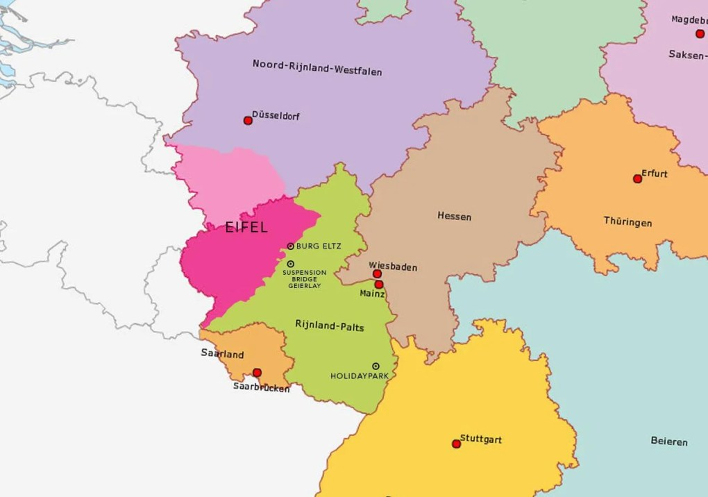 7 romantic towns in and around Rhineland in Germany