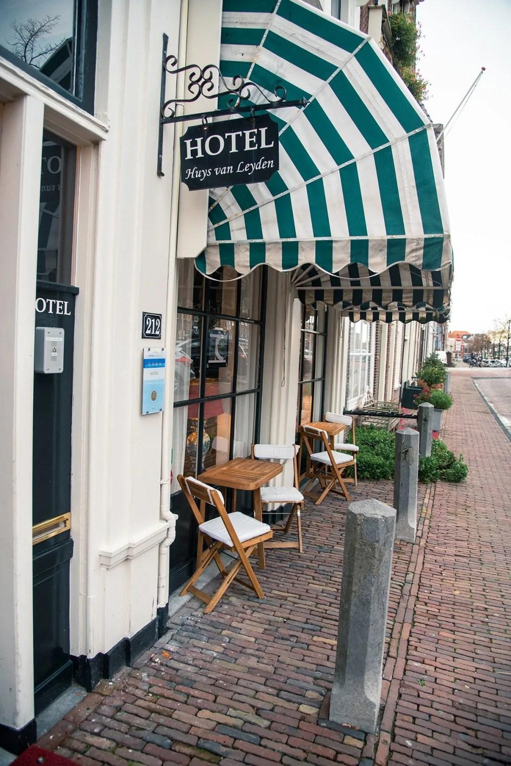 city trip in Leiden