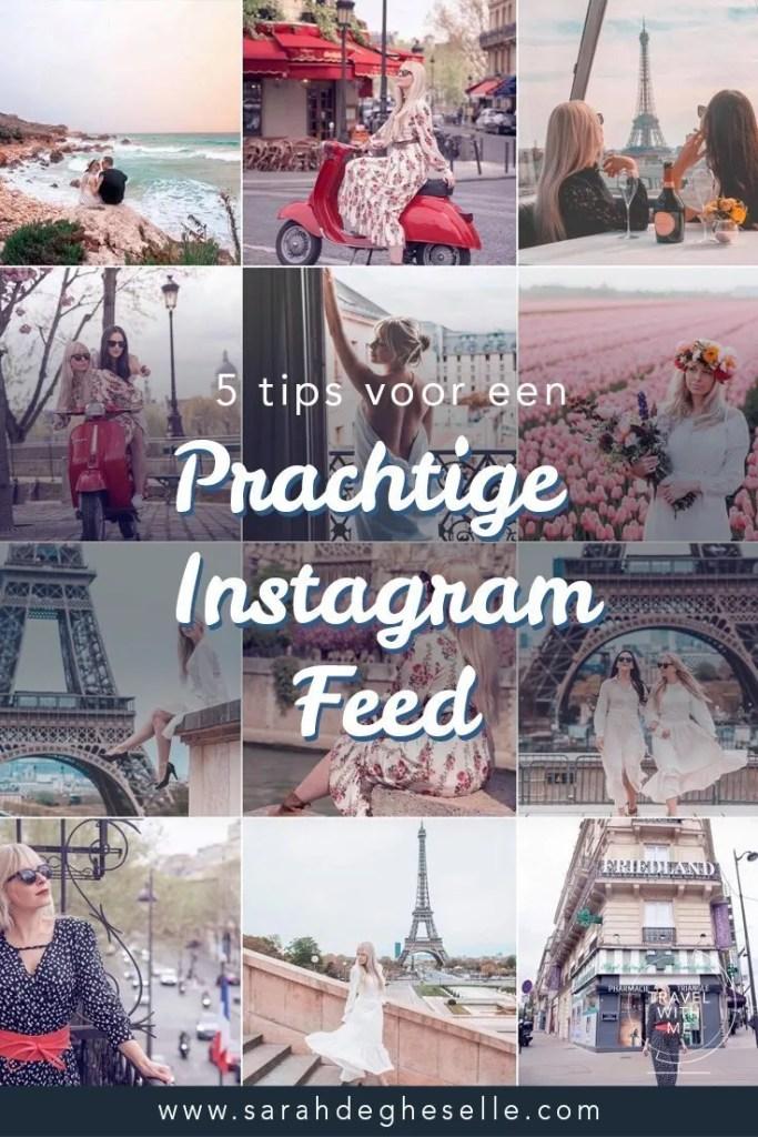 5 tips om een geweldige Instagram feed te maken