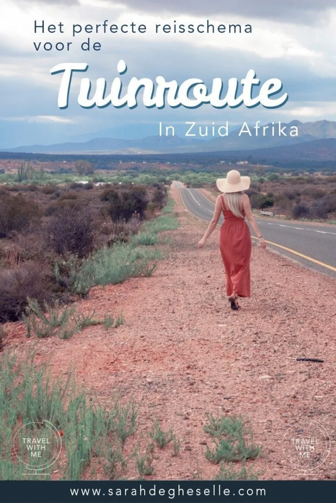 het perfecte reisschema voor de tuinroute in Zuid-Afrika