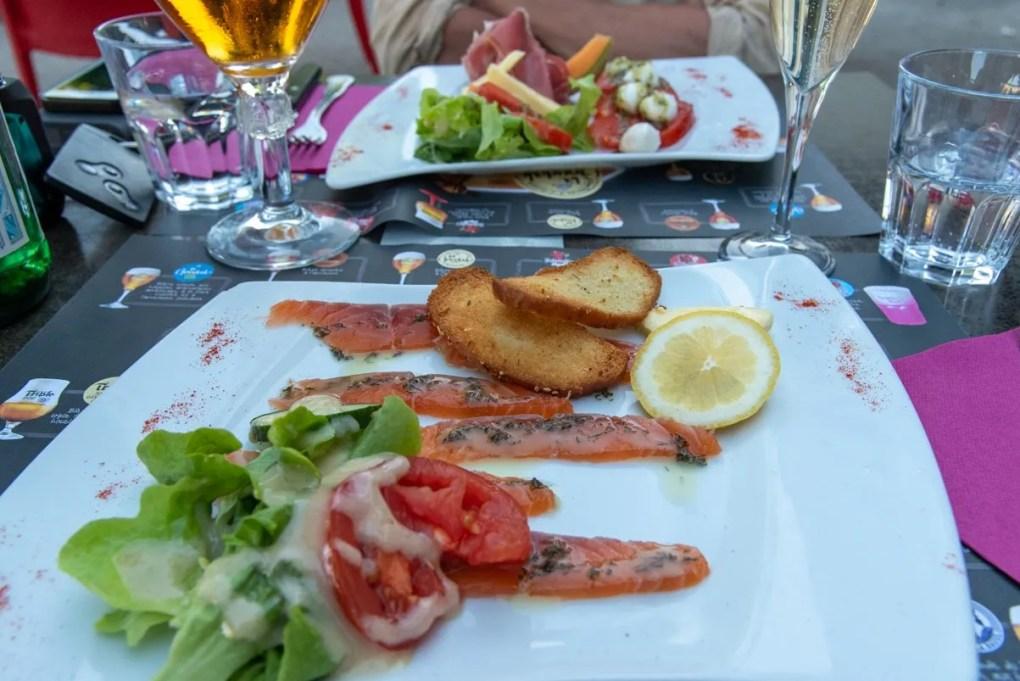 Restaurant L'imprévu, château du Loir, Vallée du Loir