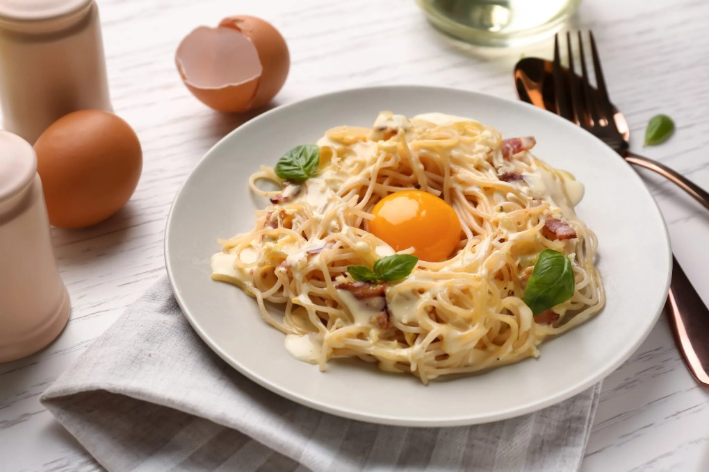 South Tyrolean-style carbonara