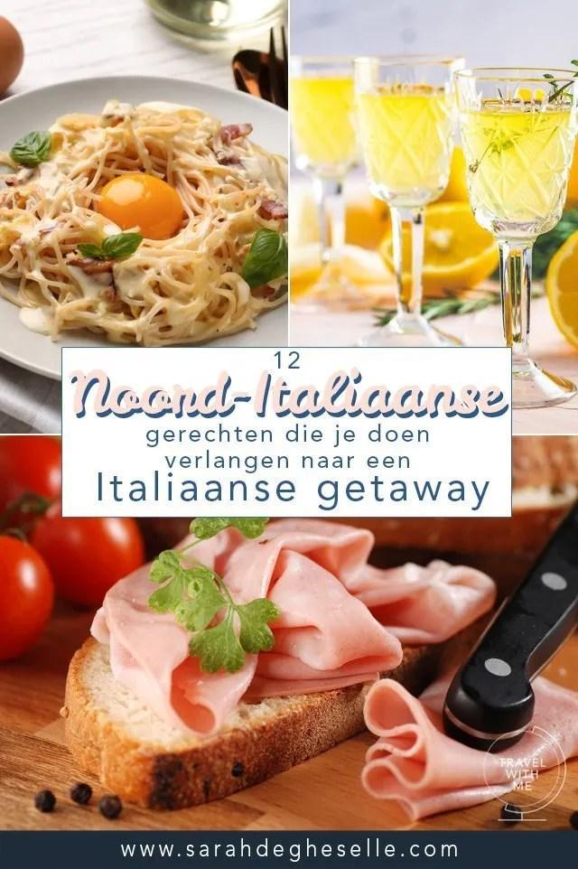 12 Noord-Italiaanse gerechten die je doen verlangen naar Italië
