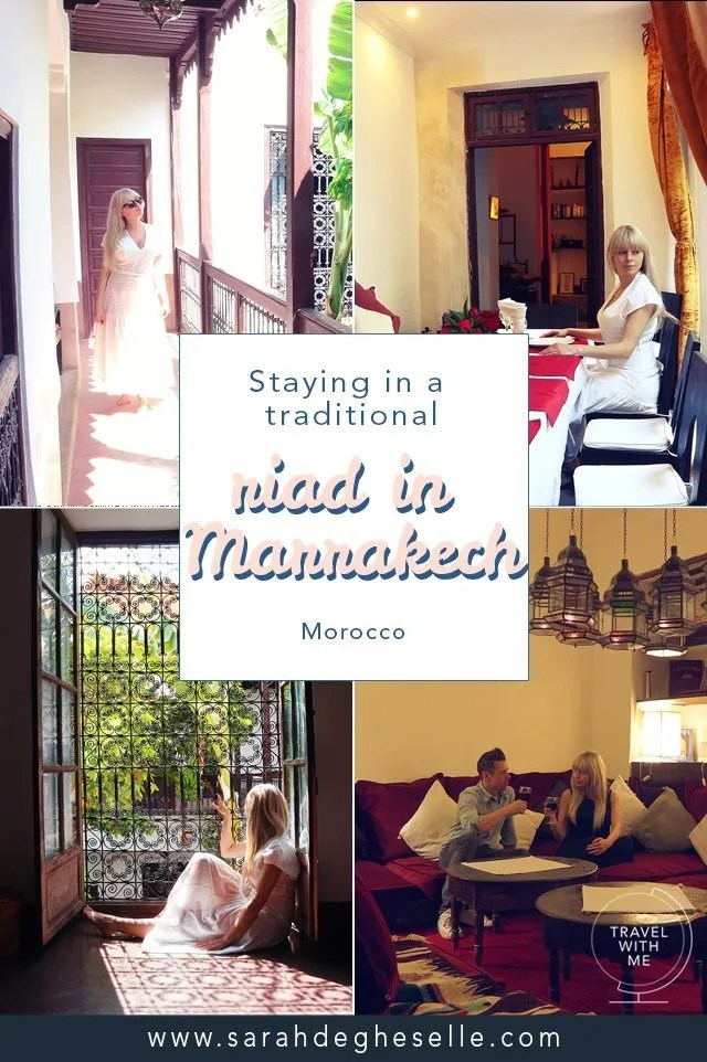 Staying in a traditional riad in Marrakech | Morocco