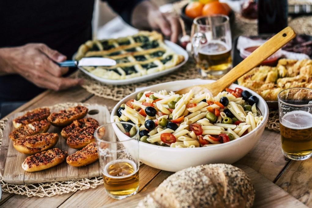 Italiaans feestmaal
