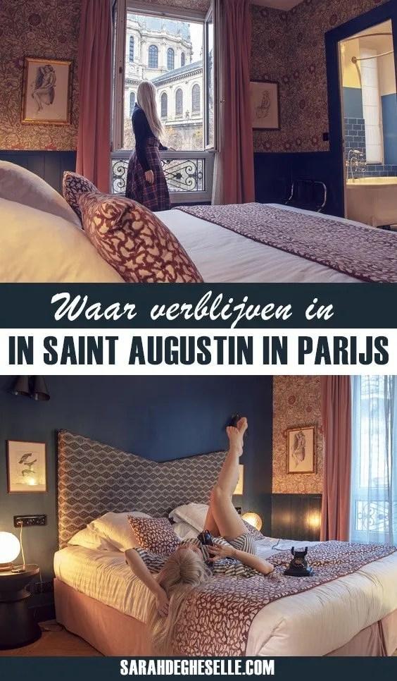 Waar verblijven in Saint Augustin in Parijs? Hotel Maison Malesherbes