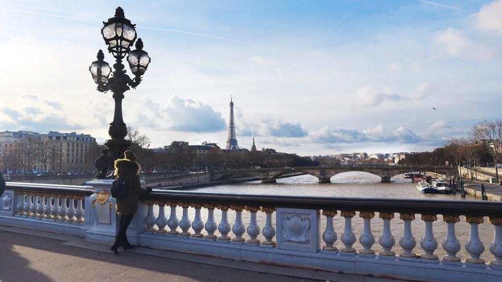 Pont Alexandre III, Parijs