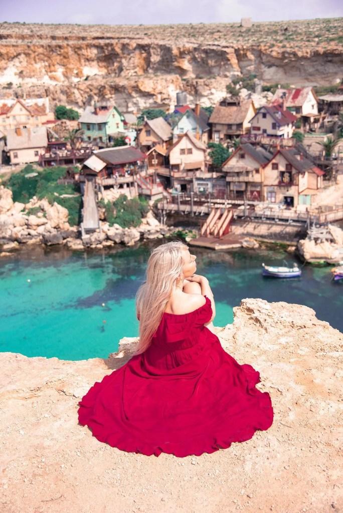 view over Popey Village Malta
