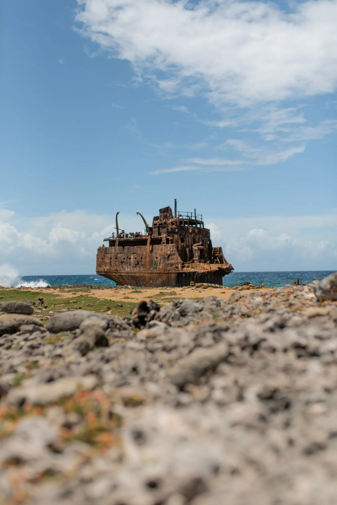 shipwreck Little Curaçao