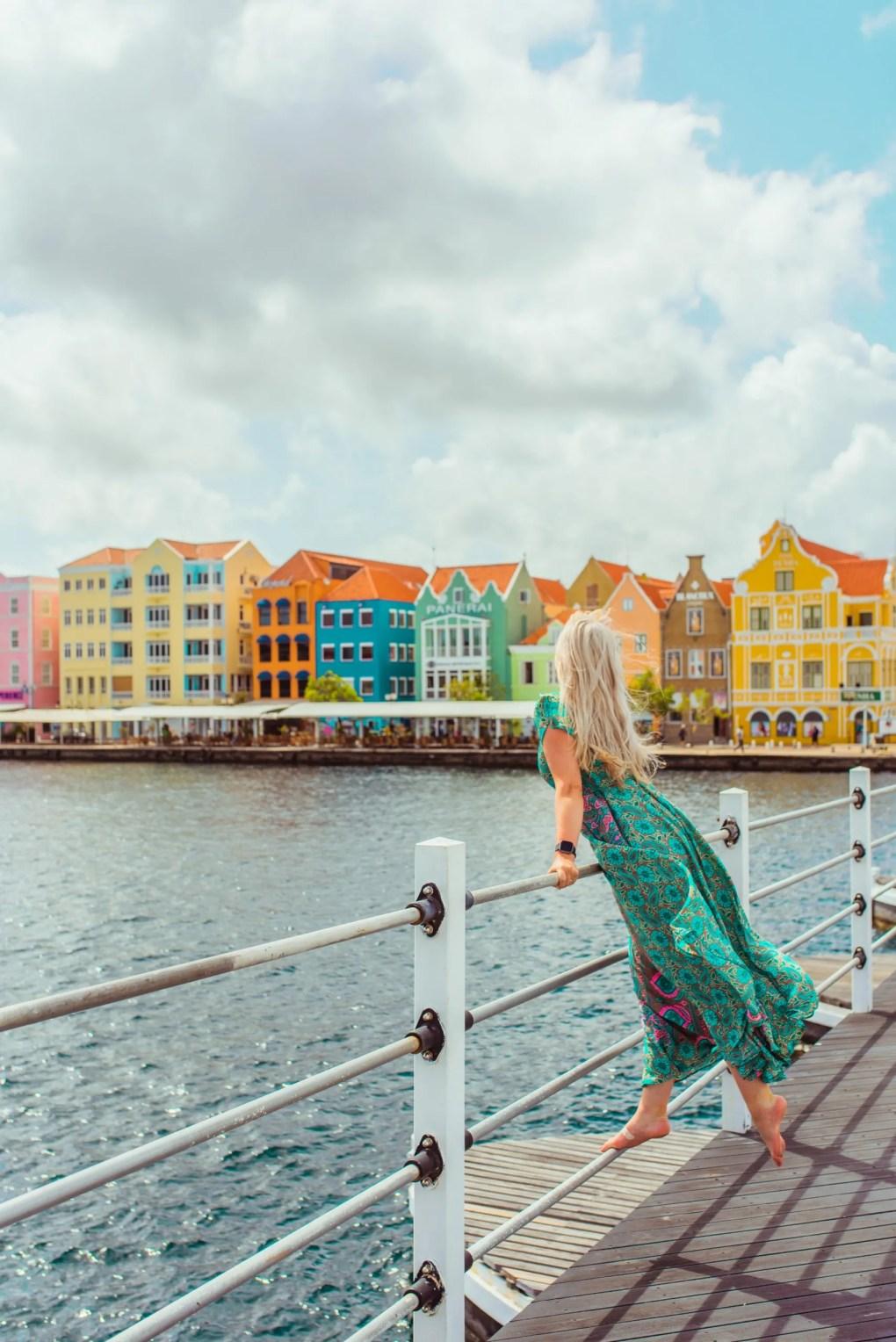 Queen Emma Bridge Willemstad Curacao