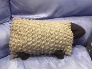 Sheep Pillow Crochet