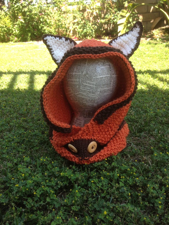 Crochet Fox Hoodie Free Pattern - Sarah Donawerth