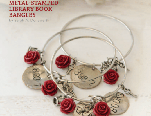 Free Article Download: Metal-Stamped Book Bangles