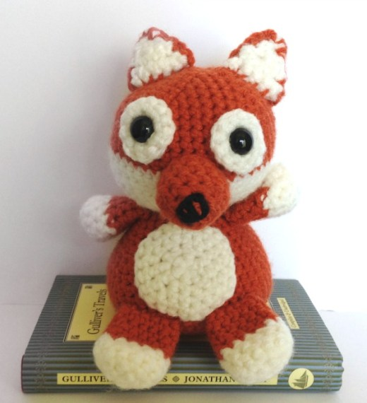 Free Crochet Pattern: Fox Amigurumi
