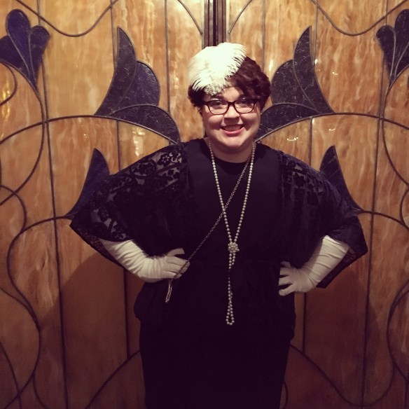1920s flapper style Dapper Day outfit