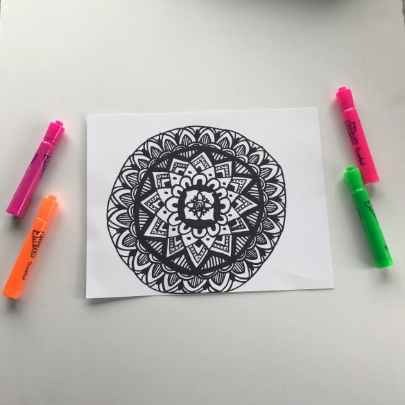 Mindfulness and Mandalas